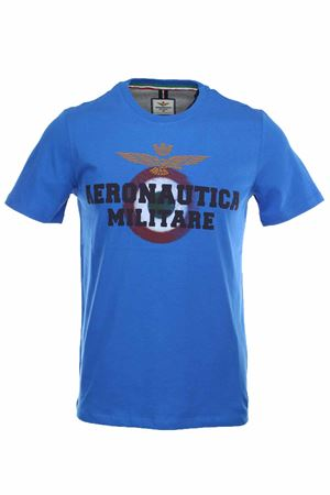 T-shirt half-sleeve maxi logo Aeronautica Militare | 34 | TS1617-21224