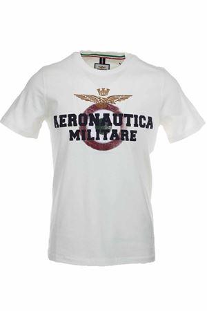 T-shirt half-sleeve maxi logo Aeronautica Militare | 34 | TS1617-73062