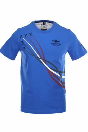 T-shirt half-sleeved tricolor arrows Aeronautica Militare | 34 | TS1711-21224