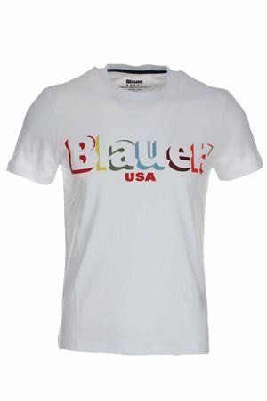 T-shirt mezza manica stampa Blauer USA BLAUER | 34 | BLUH02159004547100