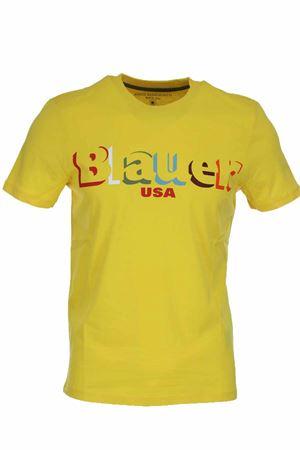 T-shirt mezza manica stampa Blauer USA BLAUER | 34 | BLUH02159004547223