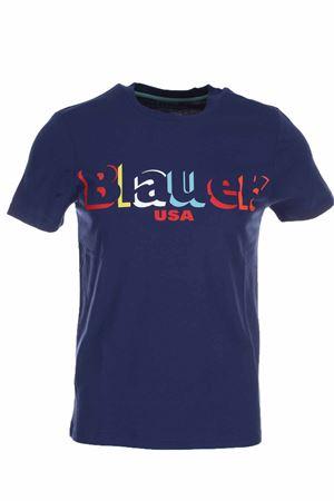Blauer USA print half-sleeve T-shirt BLAUER | 34 | BLUH02159004547868