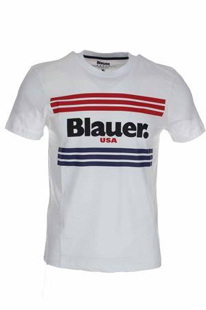 T-shirt mezza manica scritta Blauer BLAUER | 34 | BLUH02178004547100