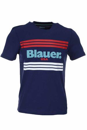 T-shirt mezza manica scritta Blauer BLAUER | 34 | BLUH02178004547868