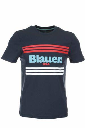 T-shirt mezza manica scritta Blauer BLAUER | 34 | BLUH02178004547892