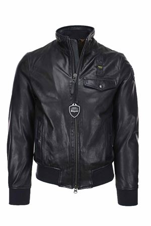 Leather bomber jacket BLAUER | 18 | BLUL02166005667892