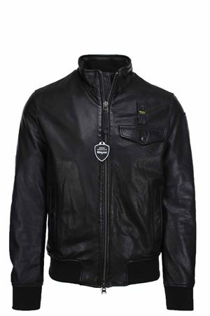 Leather bomber jacket BLAUER | 18 | BLUL02166005667999