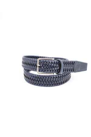 Cintura in pelle intrecciata HeGO | -1561109086 | 55H35BLU