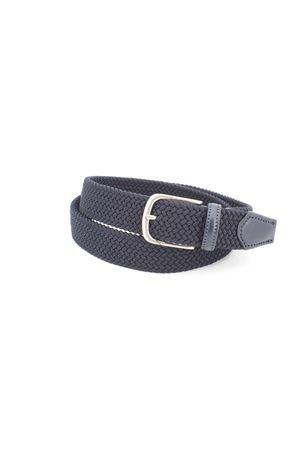 Cintura intrecciata elasticizzata HeGO | -1561109086 | 80035BLU