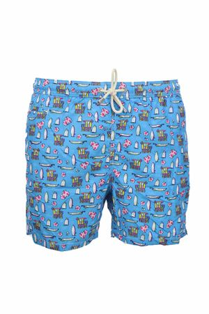 Costume boxer mare fantasia surf Saint Barth MC2 | 36 | LIG0003HWSU31