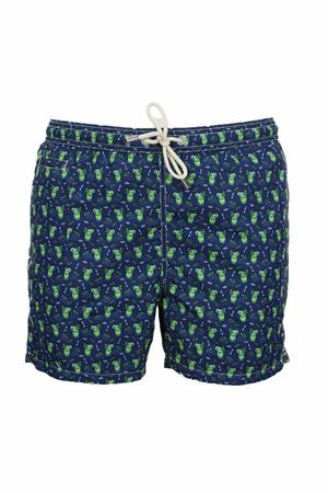 Swimsuit boxer sea fancy mojito Saint Barth MC2 | 36 | LIG0003MOMI61