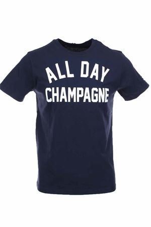T-shirt half-sleeved all day champagne Saint Barth MC2 | 34 | TSHM001ALDC61
