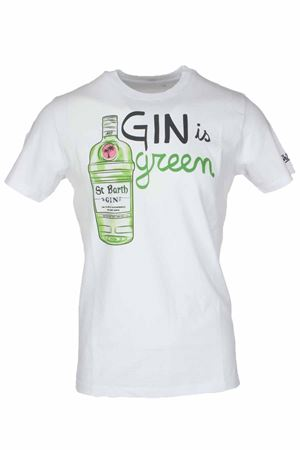 T-shirt mezza manica gin green Saint Barth MC2 | 34 | TSHM001GING01