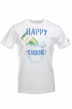 T-shirt half-sleeve happy ending Saint Barth MC2 | 34 | TSHM001HPEN01