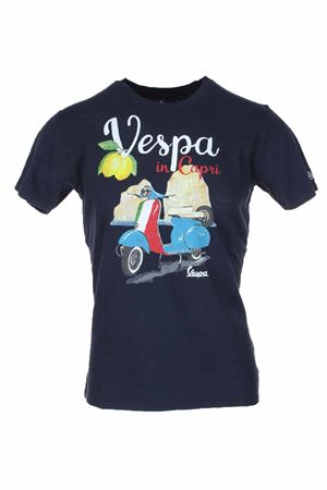 T-shirt mezza manica VESPA in CAPRI Saint Barth MC2 | 34 | TSHM001VPCR61