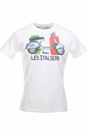 T-shirt mezza manica vespa Saint Barth MC2 | 34 | TSHM001WTVP01