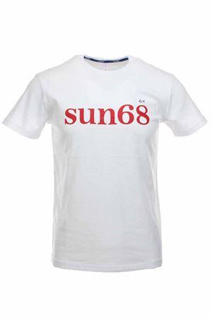 T-shirt half-sleeved logo sun68 SUN68 | 34 | T30105-01