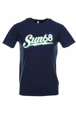 T-shirt mezza manica logo sun68 SUN68 | 34 | T30105-07