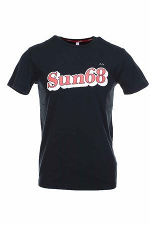 T-shirt mezza manica logo sun68 SUN68 | 34 | T30105-11