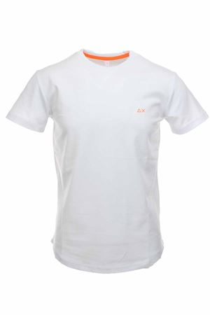T-shirt half-sleeved piquet SUN68 | 34 | T30113-01