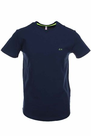 T-shirt half-sleeved piquet SUN68 | 34 | T30113-07