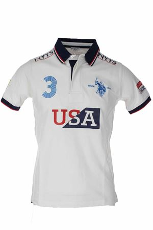 National half-sleeve piquet polo US Polo Assn | 34 | 5601241029101