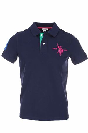 Polo half-sleeve maxilogo number 3 US Polo Assn | 34 | 5628050336177