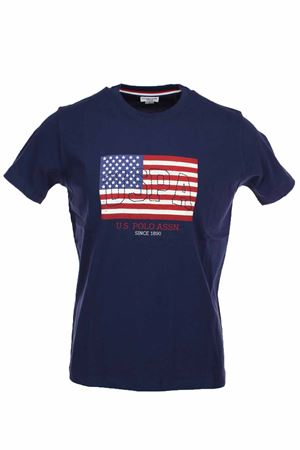 T-shirt mezza manica stampa bandiera US Polo Assn | 34 | 5719249351177