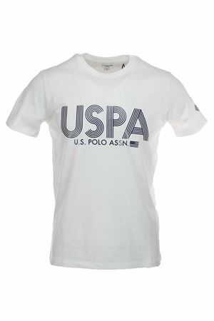 US POLO print half-sleeve T-shirt US Polo Assn | 34 | 5719749351101