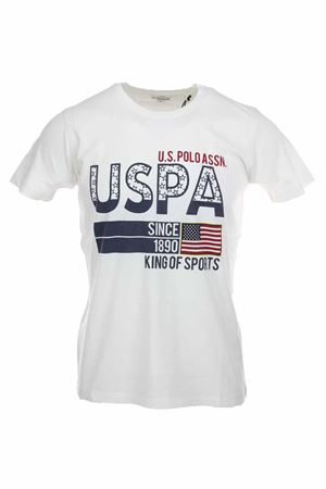 US POLO print half-sleeve T-shirt US Polo Assn | 34 | 5724352061401