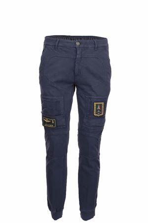 Pantalone cargo con tasconi in cotone Aeronautica Militare | 146780591 | PF743J505-08184