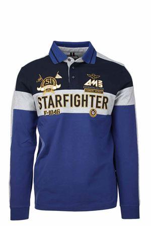 Polo manica lunga Starfighter Aeronautica Militare | 34 | PO1478-90999
