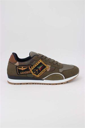 Sneaker camouflage con patch Aeronautica Militare | -1668035723 | SC192-U