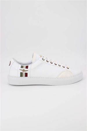 Sneaker in pelle martellata Aeronautica Militare | 38 | SC193-73062