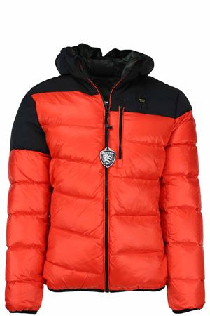 Reversible down jacket with two-tone hood BLAUER | 925341562 | BLUC06013005050449