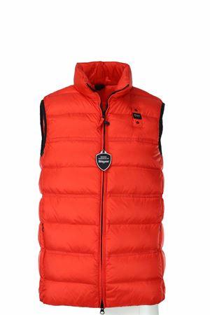 Feathered vest BLAUER | 47 | BLUX03093004938449