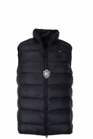 Feathered vest BLAUER | 47 | BLUX03093004938999