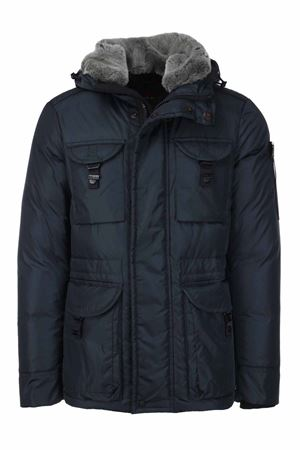 AIPTEK jacket with detachable fur hood and neck Peuterey | 925341562 | AIPTEKNB02FUR215