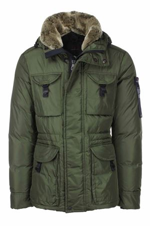AIPTEK jacket with detachable fur hood and neck Peuterey | 925341562 | AIPTEKNB02FUR690