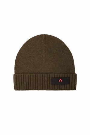 Cappellino in lana con logo Peuterey Peuterey | -1033670417 | SILLINL03690