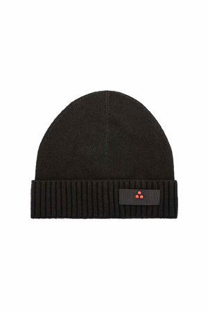 Wool cap with Peuterey logo Peuterey | -1033670417 | SILLINL03NER