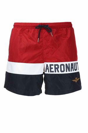 Costume boxer mare bande orizzontali multicolor Aeronautica Militare | 36 | BW199-94098