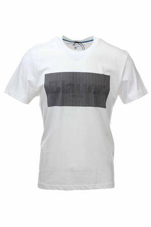 T-shirt mezza manica logo digitale BLAUER | 34 | BLUH02133004547100