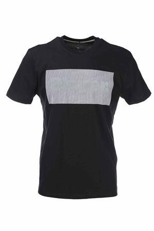 T-shirt mezza manica logo digitale BLAUER | 34 | BLUH02133004547999