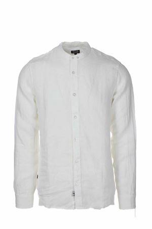 Camicia lino manica lunga collo coreana BLAUER | -880150793 | BLUS01217005999100