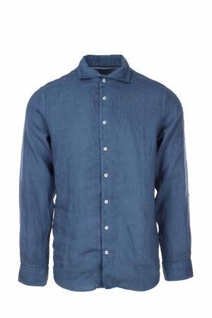 Camicia manica lunga lino lavato Gran Sasso | -880150793 | 611835002597