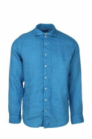 Camicia manica lunga lino lavato Gran Sasso | -880150793 | 611835002667