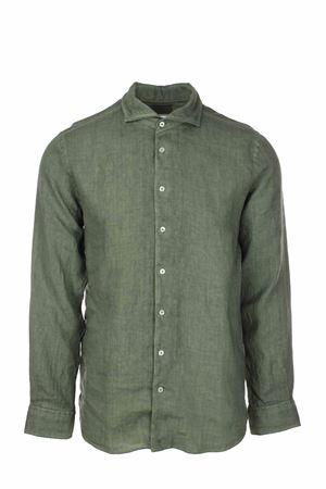 Camicia manica lunga lino lavato Gran Sasso | -880150793 | 611835002810