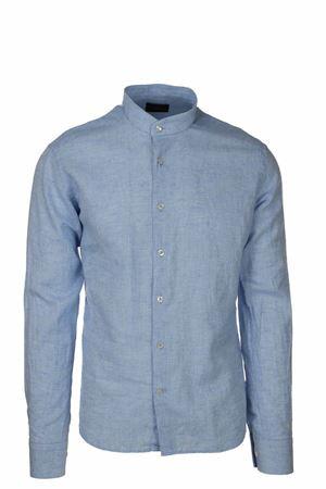 Camicia lino cotone manica lunga collo coreana Peuterey | -880150793 | MANILKARACOLI270