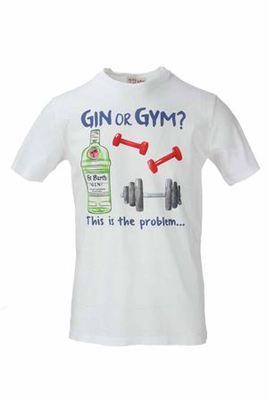 T-shirt mezza manica Gin or Gim Saint Barth MC2 | 34 | TSHM001GIPR1N